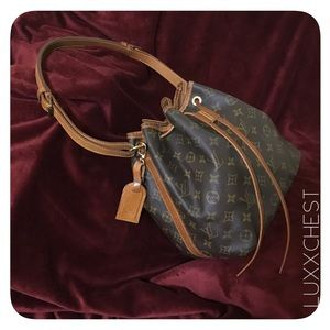 Authentic Louis Vuitton Noe PM with Luggage Tag
